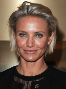 Cameron Diaz Sleek Bob Hairstyle
