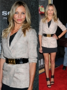 Cameron Diaz in Elizabeth & James Blazer