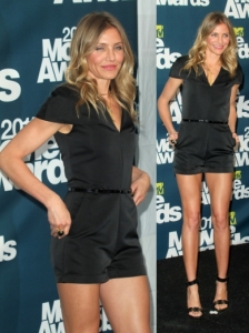Cameron Diaz in 3.1 Phillip Lim Jumpsuit
