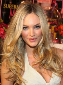 Candice Swanepoel Bombshell Hairstyle