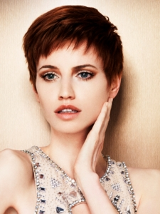 Lovely Short Pixie Hair Style