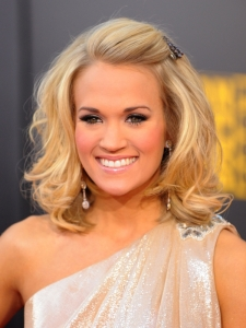 Carrie Underwood Hairstyle at the 2009 AMAs