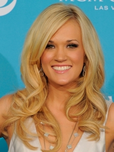 Carrie Underwood End Curls Hairstyle