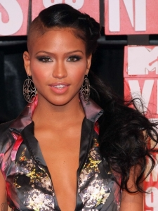 Cassie's Hairstyle at the 2009 MTV VMAs