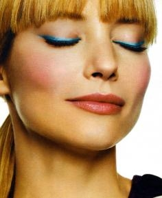Blue Eyeliner Makeup