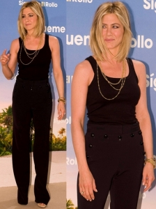 Jennifer Aniston in Dior High Waist Pants