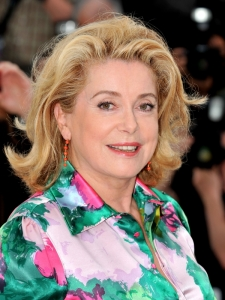 Catherine Deneuve Mid-Length Bob Haircut