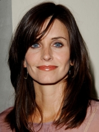 Courtney Cox Medium Layered Hairstyle