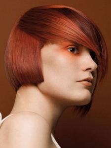 Fiery Ginger Hair Color