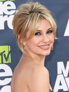 Chelsea Kane Updo 2011 MTV Movie Awards