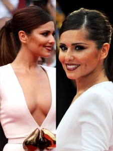 Cheryl Cole Pony Hairstyle 2011 Cannes