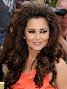 Cheryl Cole Big Curly Hairstyle
