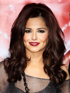 Cheryl Cole Glossy Blow-out