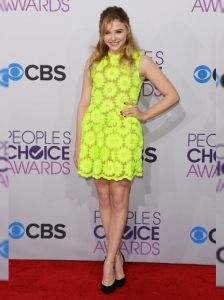 Chloe Moretz's Dress at 2013 People's Choice Awards