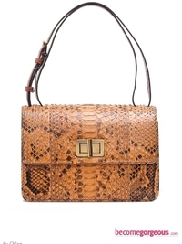 Chloe Snakeskin Shoulder Bag