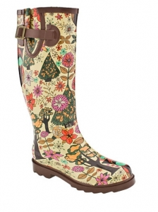 Chooka Gypsy Owl Rain Boots