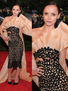 Christina Ricci in Thakoon Dress