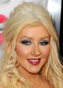 Christina Aguilera Two Tone Makeup