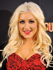 Christina Aguilera Loose Curly Hairstyle