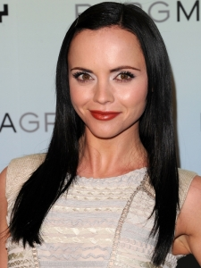 Christina Ricci Long Black Hairstyle