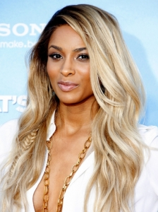 Ciara Blonde Hair with Loose Waves