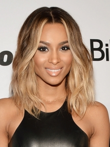 Ciara's Shoulder-Length Ombre Hairstyle