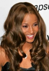 Ciara with Long Curls