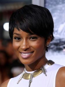 Ciara's Short Crop Hairstyle