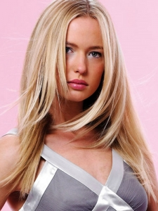 Long Blonde Hair Style