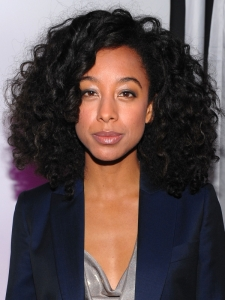 Corinne Bailey Rae Big Curly Hairstyle