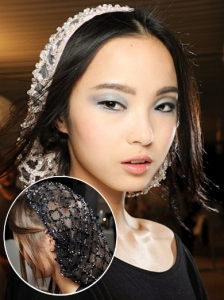 Hairstyle from Chanel Couture 2012