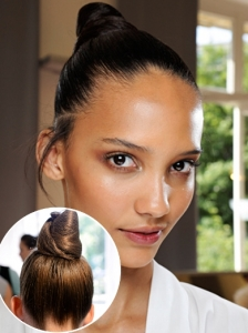 Hairstyle from Valentino Couture 2012