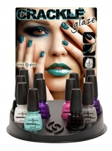 China Glaze Crackle Nails Collection