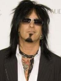 Nikki Sixx Long Layered Hairstyle