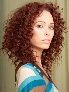 Long Tight Curls Hair Style