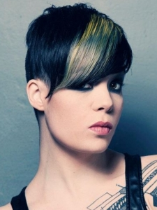 Gorgeous Punk Undercut Hairstyle