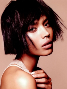 Glam Medium Choppy Bob Haircut