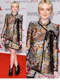 2012 CFDA Fashion Awards Outfits
