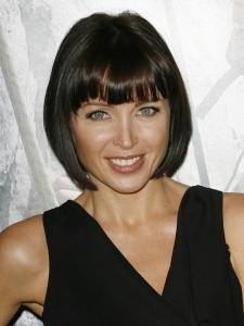 Dannii Minogue Blunt Bob with Bangs Hairstyle