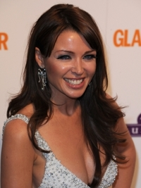 Dannii Minogue Long Layered Hairstyle