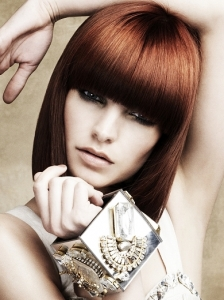 Dark Auburn Red Hair Color