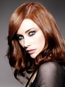 Dark Copper Red Hair Color