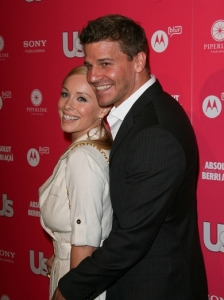 David Boreanaz and Jaime Bergman