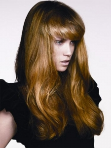 Fabulous Long Multi-tonal Hair Style