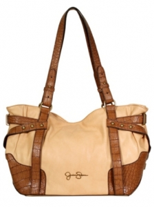 Croc Trim Shoulder Bag from Jessica Simpson