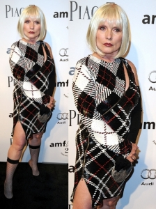 Debbie Harry in Ashish Sequin Dress