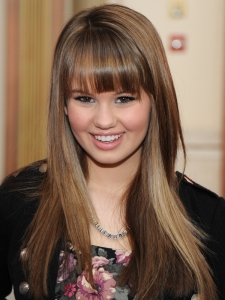 Debby Ryan Layered Hairstyle with Bangs