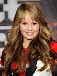 Debby Ryan Loose Curly Hairstyle