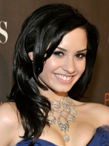 Demi Lovato Layered Hairstyle