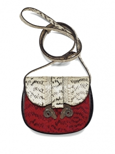 Derek Lam Snake Print Shoulder Bag